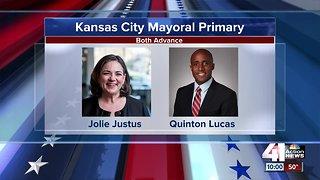 Jolie Justus, Quinton Lucas to square off to be next Kansas City mayor