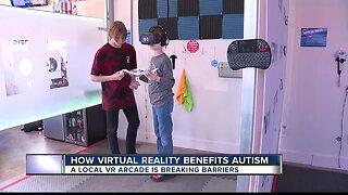 Virtual reality benefits autistic children