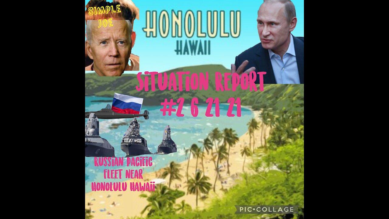 Situation Update: Russian Navy Pacific Fleet Near Hololulu, Hawaii! - Must Video
