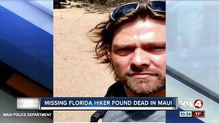 Florida missing man found dead in Maui