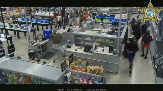 Hundreds of looters caught on video breaking into Tampa Walmart