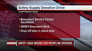 Covid-19 in MI/ Safety Supply Drive