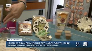 Pueblo Grande Museum reopens after pandemic closure