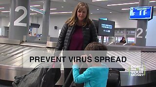 Prevent virus spread on airplanes