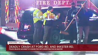 Deadly crash in Dearborn Heights