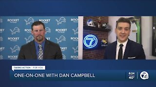 One-on-one with new Lions head coach Dan Campbell
