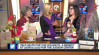 Yelp Helps for the Holiday: a benefit for The Judson Center
