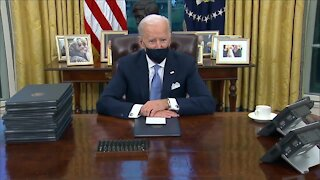 President Biden takes office with ambitious, sweeping agenda
