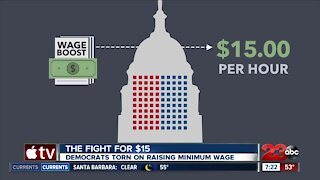 The Fight for $15: Democrats torn on raising minimum wage