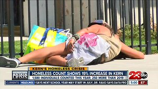 Kern County homeless population increases by 19 percent in 2020