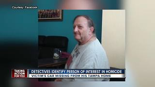 Detectives look for person of interest in Hillsborough County homicide case