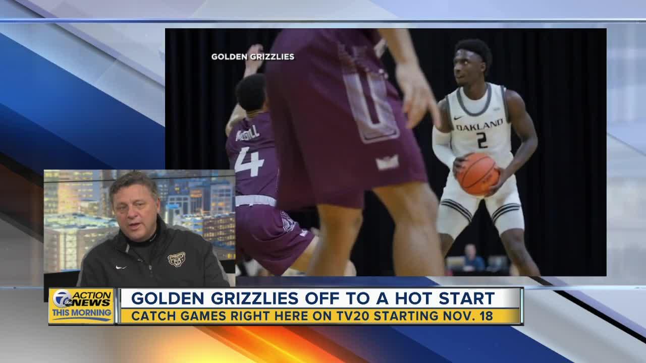 Oakland University's head basketball coach talks about season