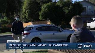 Mentor programs adapt during pandemic