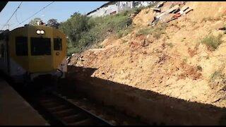 SOUTH AFRICA - Durban - Railway track still damaged (Videos) (NkT)