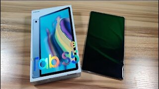 Samsung Galaxy Tab S5e Unboxing