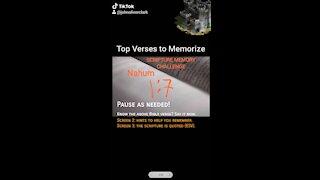 Top Verses To Memorize, Nahum 1:7