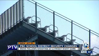 New security changes made for Palm Beach County High School football games