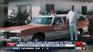 HALL Ambulance celebrates 50 years
