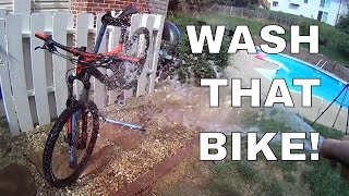 Music Video: Wash a Mountain Bike