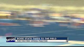 Spring Practice begins for Boise State