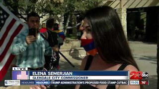 Armenians from Bakersfield and Glendale Protest Outside Congressman Kevin McCarthy's Office