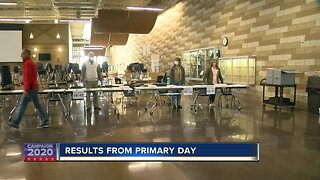 Results from primary day - update 1