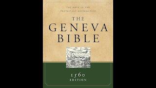 The Geneva Bible to celebrate my first Follower!