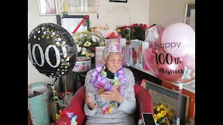 WATCH: Kenilworth resident Ma Agnes turns 100 years old