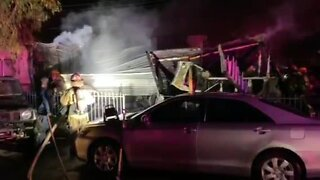 Woman found dead in mobile home fire