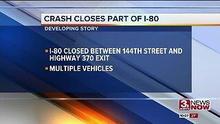 Crash Closes Stretch of I-80