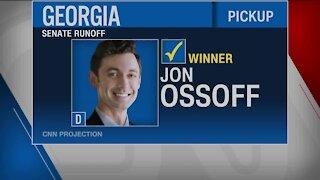 Osoff wins Senate runoff race in Georgia