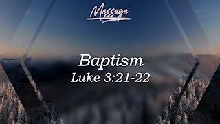 Baptism Luke 3:21-22