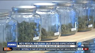 Medical marijuana sales surpass expectations