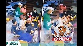 No coma cuento: Video de atraco en restaurante no ocurrió en Bucaramanga