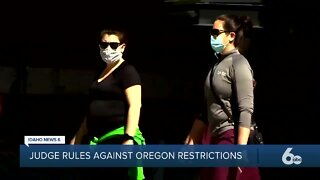 Judge rules that Oregon virus restrictions are invalid