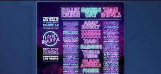 Life is Beautiful 2021 Las Vegas lineup released