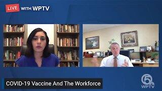 South Florida labor attorney talks COVID-19 vaccine and work
