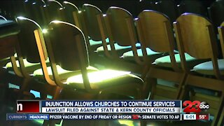 Injunction allows churches to continue services during pandemic