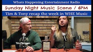 Music Scene Sunday Night - October 18th 2020