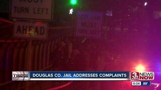 Douglas County Jail addresses complaints