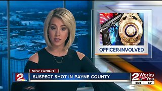 Suspect shot by deputies in Payne County