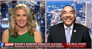 The Real Story - OANN Immigration Overload with Bruce LeVell