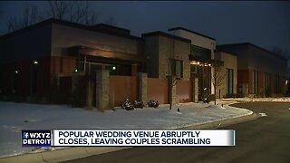 Popular wedding venue abruptly closes, leaving couples scrambling