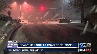 Real-time look at road conditions
