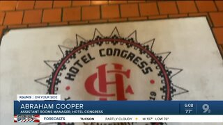 Hotel Congress opens for guest after months of COVID-19 closure