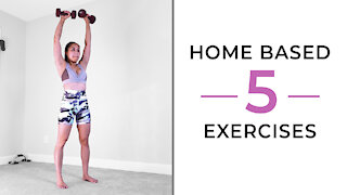 Work Out At HOME | 5 Great Exercises 😍