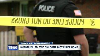 Mother killed, two children shot inside home