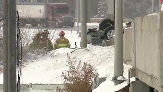 Fatal crash on I-80