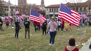 Biden, Harris supporters continue celebrations in KCMO