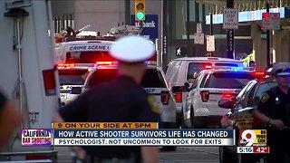 Active shooter survivors face fear, anxiety